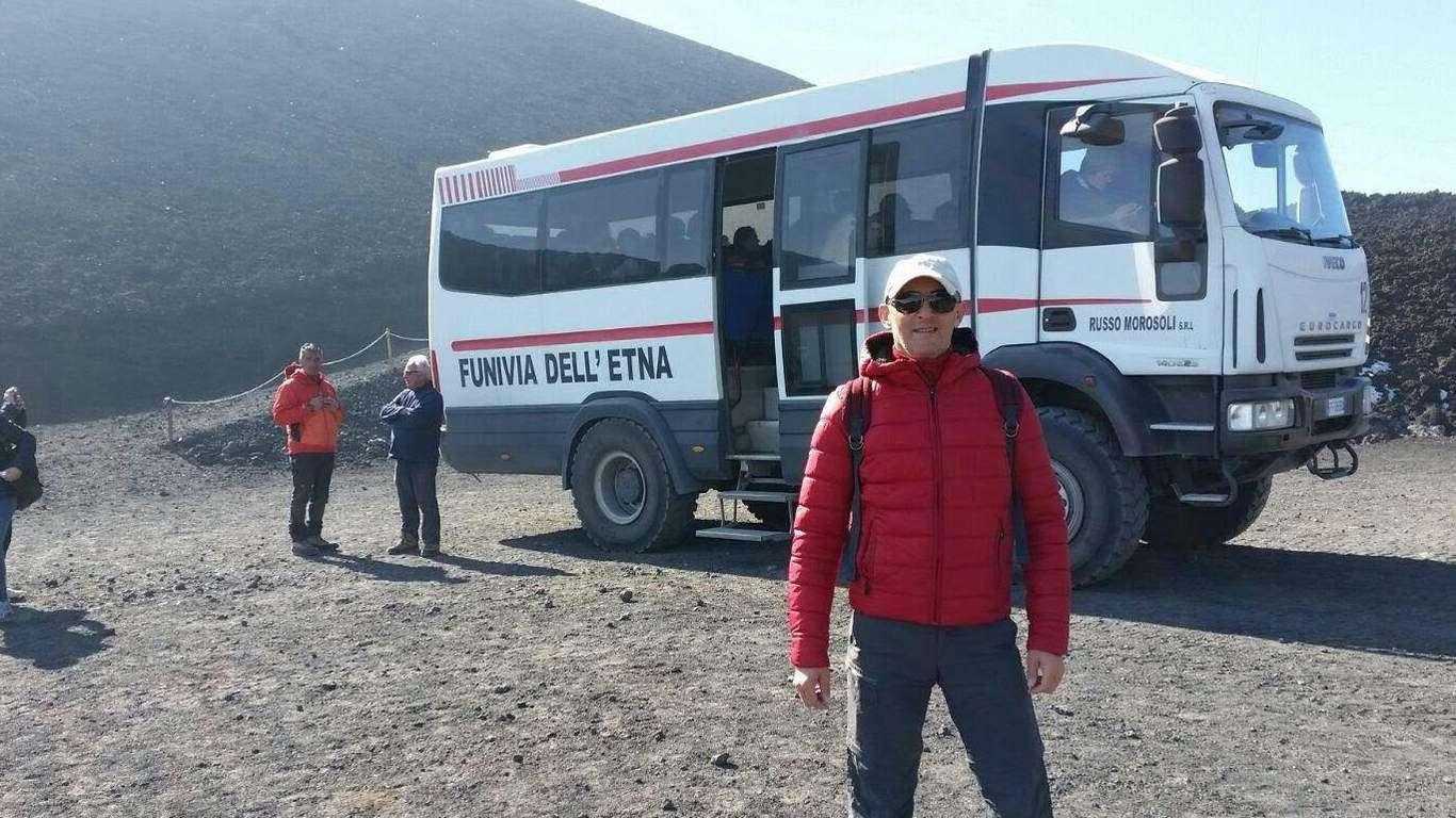 7° giorno - L'escursione sull'Etna