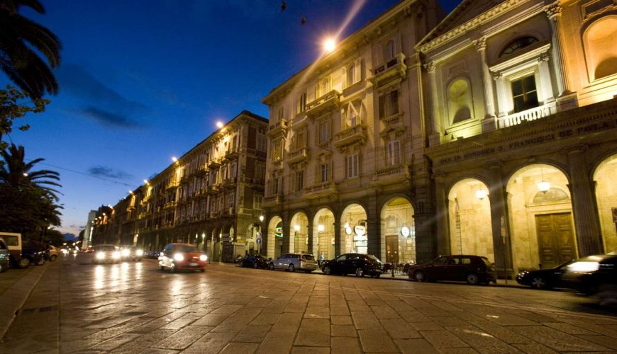 Miramare Cagliari Hotel Museo esterno